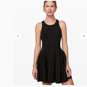 NWT Court Crush Tennis BLACK Dress SZ6